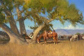 Horse Murals by Recreation Nature Cow Wall Murals Sky Landscape Cowboy