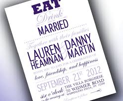 eat drink and be married invitations eat drink and be married wedding invitations eat drink and be eat