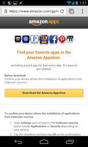 use amazon appstore get free and cheap android apps