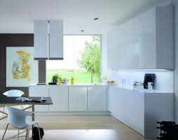 kitchen room beautiful purple white stainless glass modern