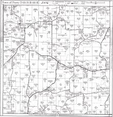 plat maps maps town of perry