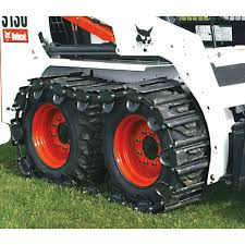 amazon com tracksplus steel skid steer tracks for bobcat 700