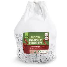 frozen whole turkey woolworths frozen turkey whole 5kg woolworths