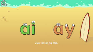 nessy spelling strategy when to use ai or ay youtube