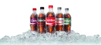 is your name on a coke bottle the coca cola company