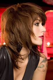 pictures of medium length shaggy haircuts for women