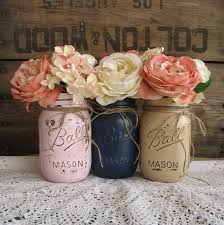 Rustic Mason Jar Centerpieces For Weddings by Can Get A Bunch Of Mason Jars At Walmart For Cheap Or Anywhere And