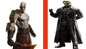 Kratos Halloween Costume Image Kratos Albert Wesker Png Deadliest Warrior Wiki