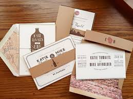design invitations milwaukee wedding invitations creative design with vintage style