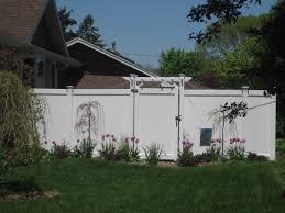 outdoor accents yutka fence kenosha wi vinyl pergola picture