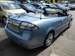 saab convertible green used blue saab 9 3 for sale glamorgan