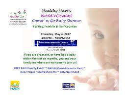 healthy start u0027s world u0027s greatest baby shower bayartsevents com