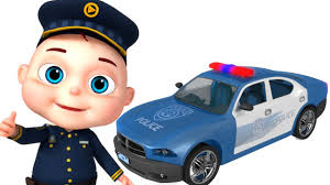 police car police car assembly vehicle construction for kids videos for