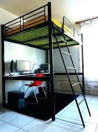 lit mezzanine noir avec bureau lit mezzanine noir avec bureau lit lit mezzanine 90 noir avec