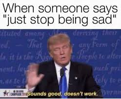 Erm No Meme - dopl3r com memes when someone says just stop being sad tuted