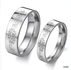 korean wedding rings hristina s 316l stainless steel silver korean finger