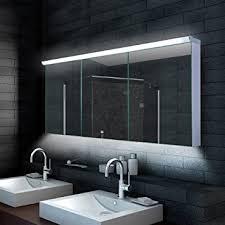 spiegelschränke für badezimmer aqua design badezimmer spiegelschrank mit led beleuchtung 160