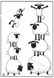 shaun sheep free printable coloring pages 09 shaun cumple 2 lean