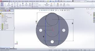 tutorial modeling crank shaft in solidworks grabcad