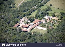 aerial view north west of country houses adjacent to epping new