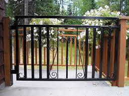 railings and gates custom ironwork with a decorative flare