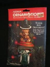 vintage noma ornamotion rotating ornament motor ebay
