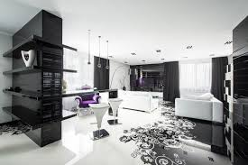 White Chairs For Living Room Black And White Living Room Interior Design 20 Modern Contemporary