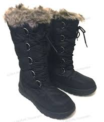 womens ski boots sale s winter boots fur warm insulated waterproof zipper ski