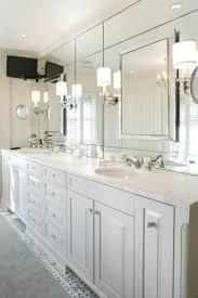 bathrooms design frameless bathroom mirrors ideas and large