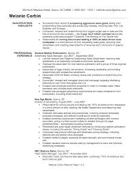 Retail Sales Manager Resume Samples by 100 Sales Manager Resume Sample 2017 4 Sales Manager Resume