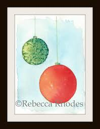 watercolor for the beginner how to paint a ornament