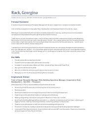 Psw Sample Resume by Georgina Rack Cv 2015