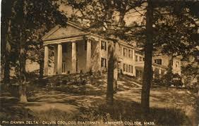 amherst college calvin coolidge pride of the amherst college phi gamma delta