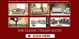 Leather Sofas Italian Italian Leather Sofas And Fabric Suites For Sale Uk