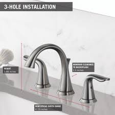 delta 3538 ssmpu dst lahara two handle widespread bathroom faucet