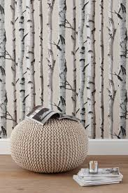 Wallpaper For Livingroom Birch Trees Wallpaper Would Like This For The Chimney Breast