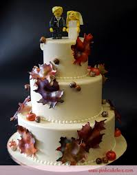 theme wedding cakes lego fall themed wedding cake wedding cakes