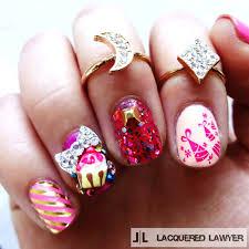 dressed up nails 80s party nail art nail art pinterest nail art