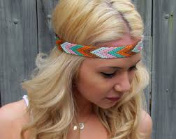 hippie hair bands hippie hair band etsy
