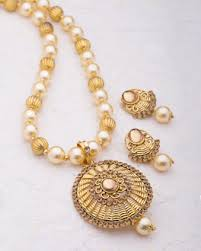 necklace set images images Buy necklace sets silver gold plated cz pearl necklace sets jpg