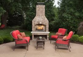 bristol patio furniture set scarlet red 4 piece u2013 la z boy outdoor