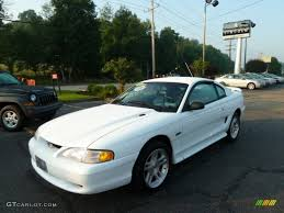 98 ford mustang gt 1998 ultra white ford mustang gt coupe 51989124 gtcarlot com