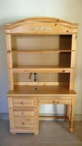 Pine Desk With Hutch Broyhill Fontana Bedroom Furniture Bedroom Furniture Desk And