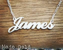 man name necklace images Mens name necklace etsy jpg