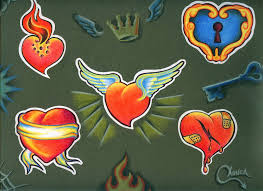 download heart tattoo flash danielhuscroft com