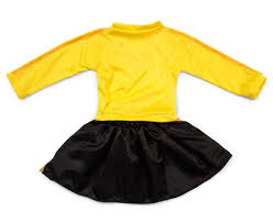 wiggles costume for toddlers the wiggles emma dress up costume yellow black catch com au