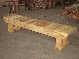 Rustic Wood Furniture Plans Rustic Wood Bench Nyfarms Info
