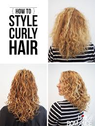 flip hair upsidedown and cut how to style curly hair for frizz free curls video tutorial