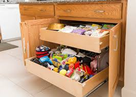 Roll Out Shelves by Shelfgenie Of Indiana Creates Customized Roll Out Storage For The