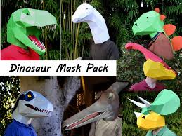 dinosaur costume patterns make your own halloween masks